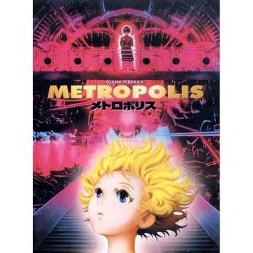 METROPOLIS Affiche FR 40x60 '01 Rintaro, Tezuka, Manga Movie Poster
