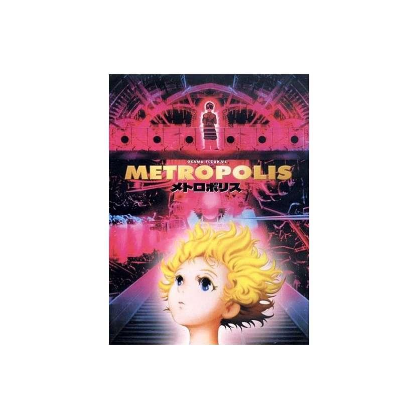 METROPOLIS French Poster 15x21 '01 Rintaro, Tezuka, Manga Movie Poster