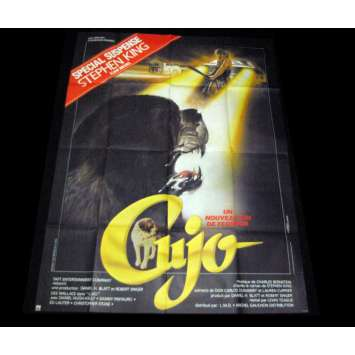 CUJO French Movie Poster 47x63 '83 Dee Wallace, Stephen KIng