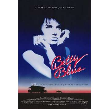 37.2 LE MATIN Affiche US '86 Beinex, Bétarice Dalle, Betty Blue Movie Poster