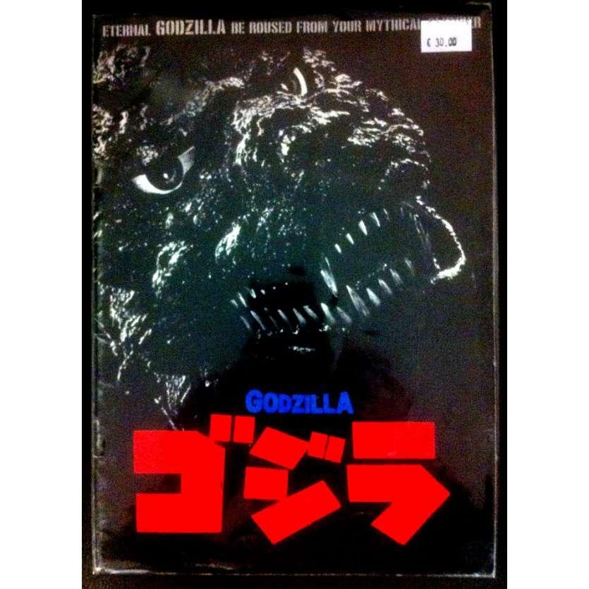 GODZILLA Japanese program R84 Original Toho