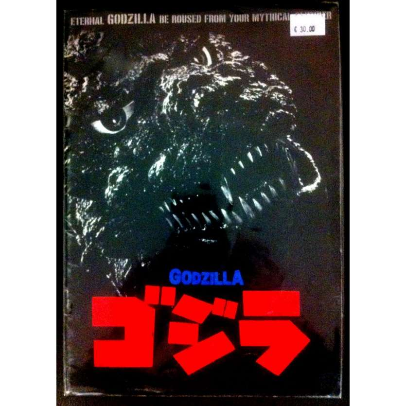 GODZILLA Programme Japonais R84 Original Toho Japanese program