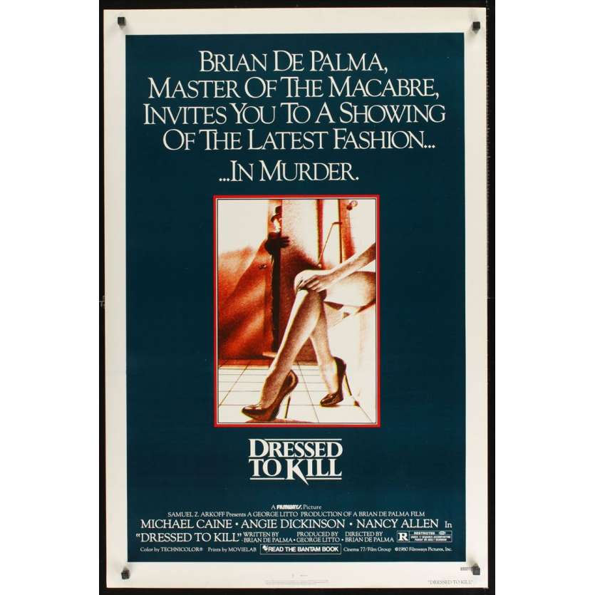 Mauvais-genres.com BRIAN DE PALMA Pulsions Affiche du film USA 1980 Affiches cinéma