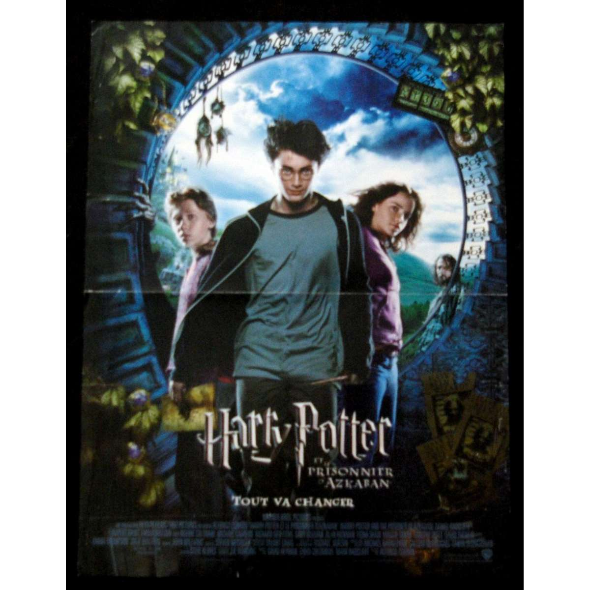 Harry potter and the prisonnier of azkaban french movie poster 15x21 gary oldman alan rickman for Poster et affiche
