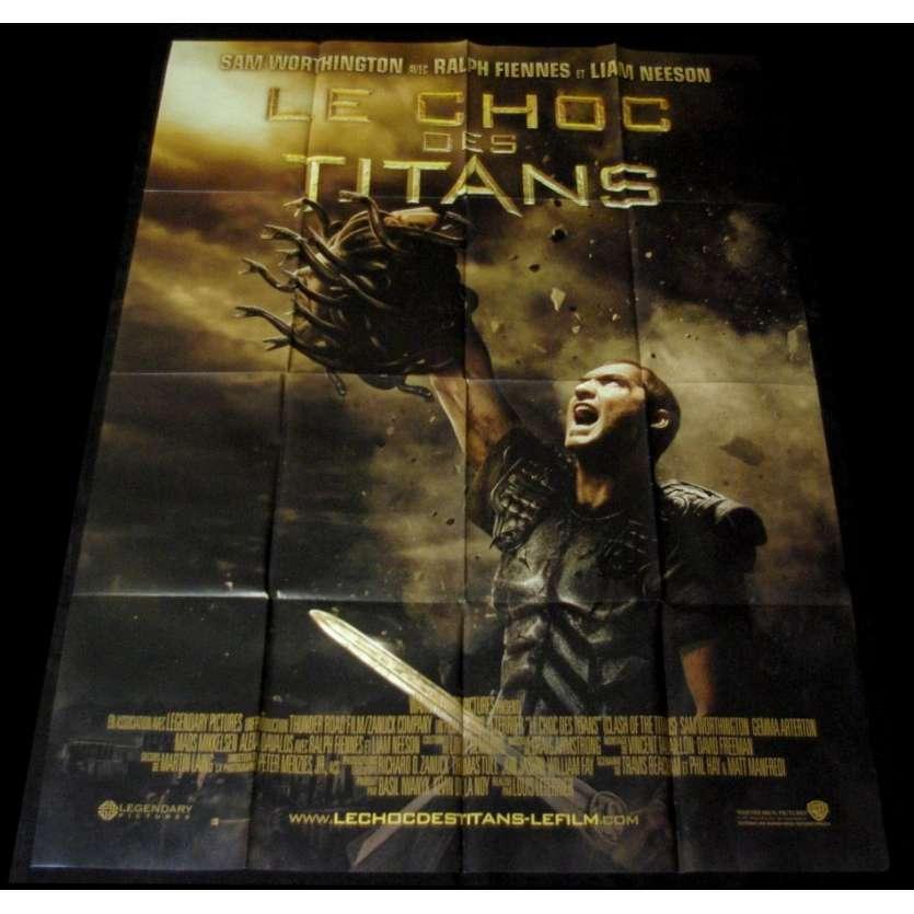 LE CHOC DES TITANS Affiche 120x160 FR Liam Neeson Movie Poster