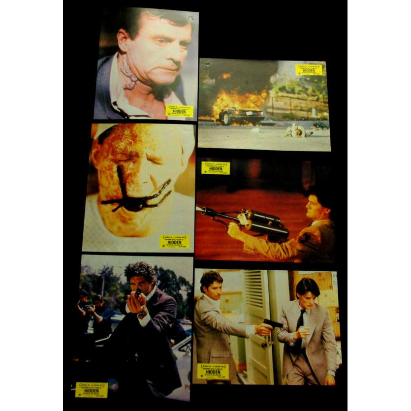 HIDDEN Photos d'exploitation x12 FR '87 Kyle MacLachlan Lobby Cards