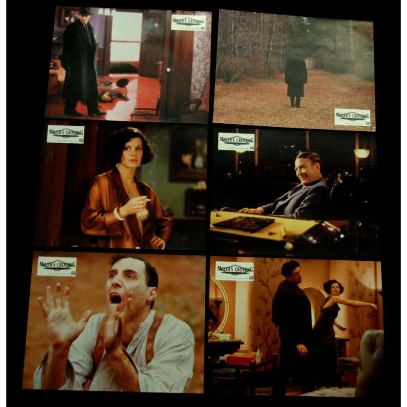 MILLER'S CROSSING Photos d'exploitation x8 FR '00 Cohen brothers lobby cards