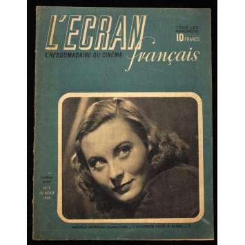 L'Ecran Français – N°007 – 1945 – Michèle Morgan