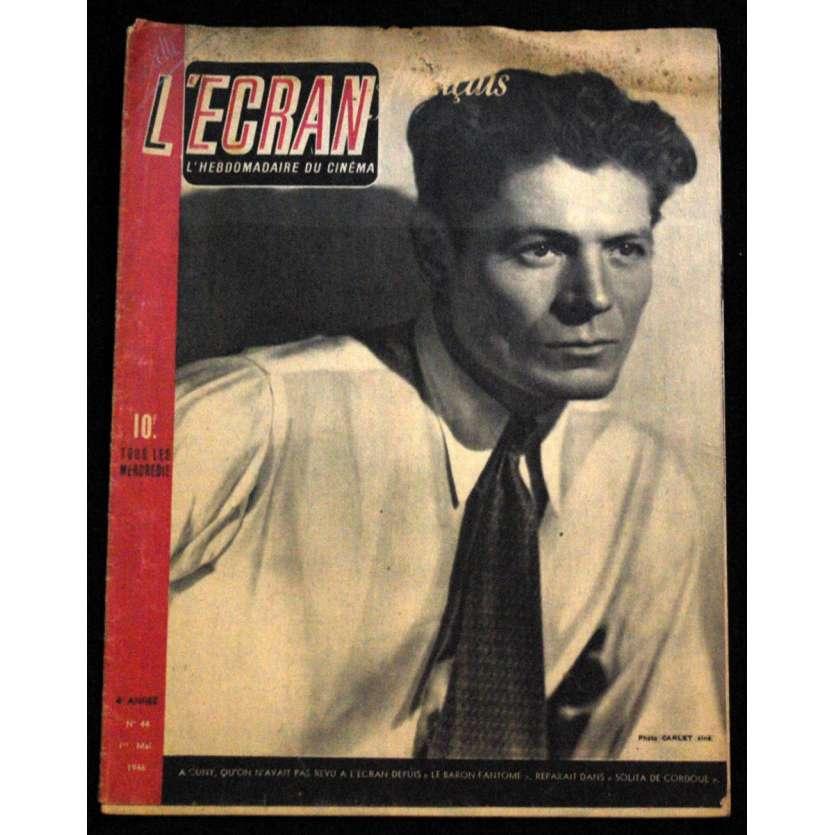 L'Ecran Français – N°044 – 1946 – A Cuny