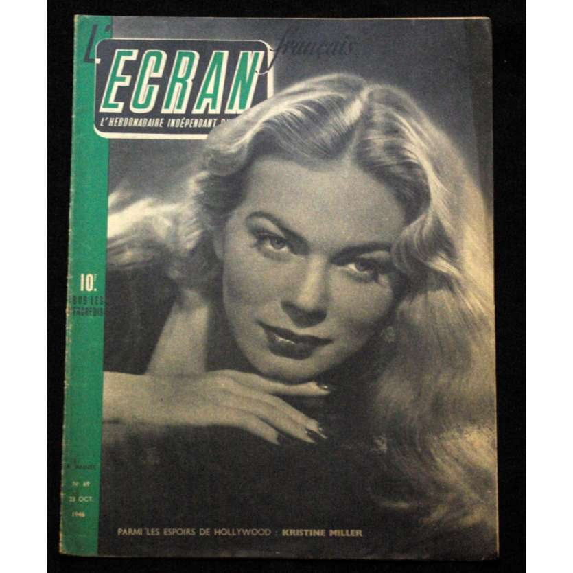 L'Ecran Français – N°069 – 1946 – Kristine Miller