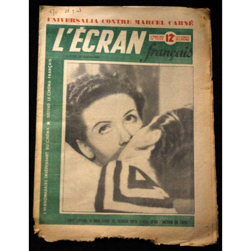 L'Ecran Français – N°170 – 1948 – Gaby Sylvia