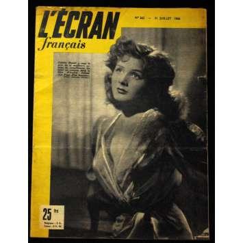 L'Ecran Français – N°265 – 1950 – Colette Ripert