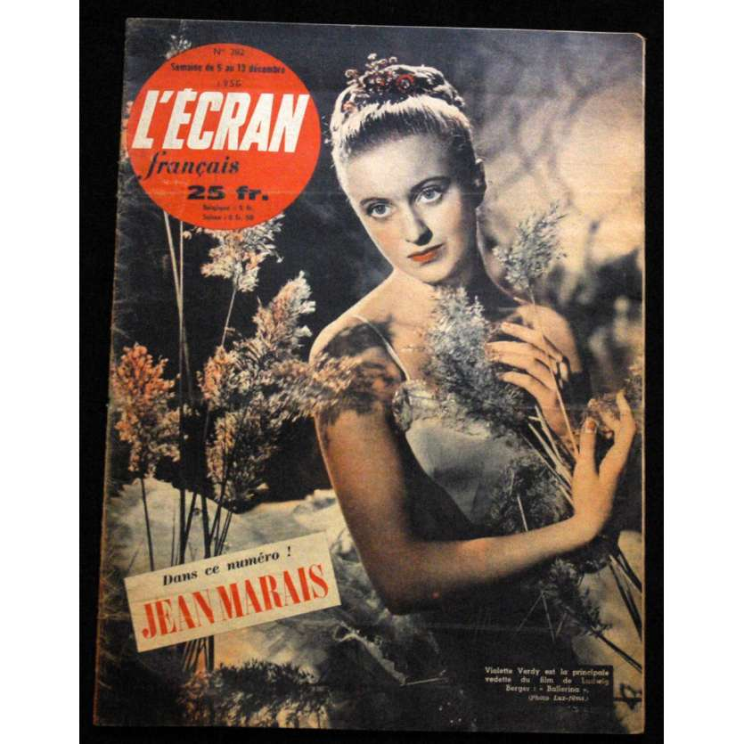 L'Ecran Français – N°282 – 1950 – Jean Marais