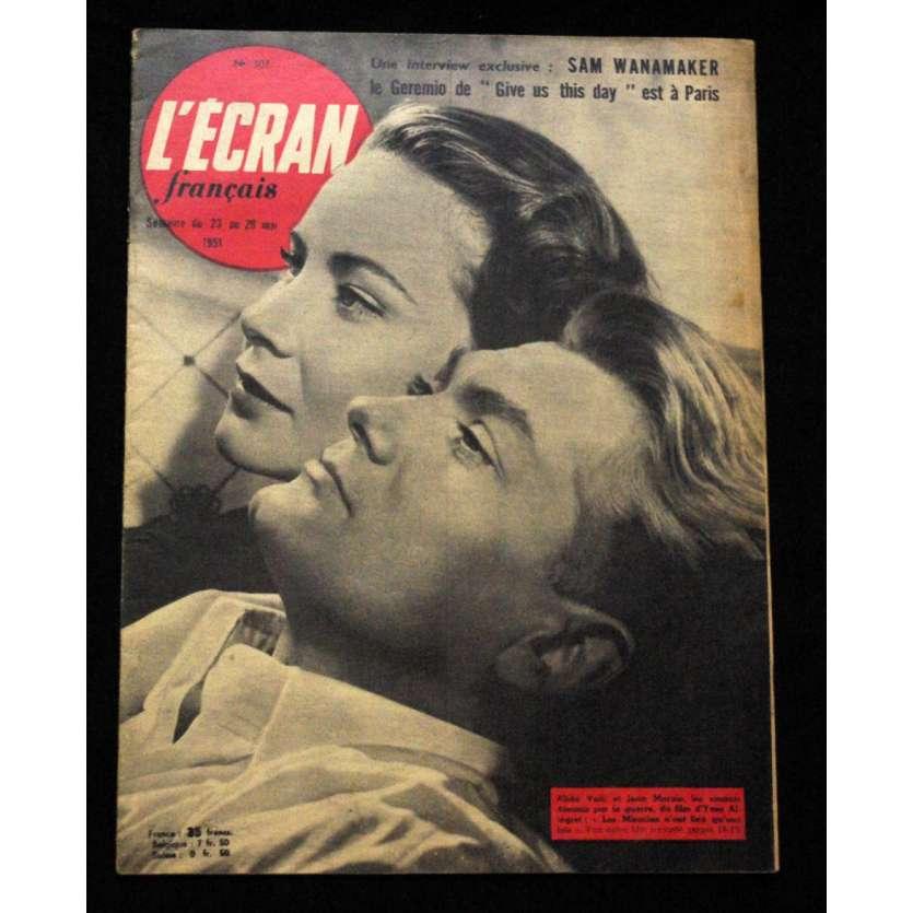 L'Ecran Français – N°307 – 1951 – Alida Valli, Jean Marais