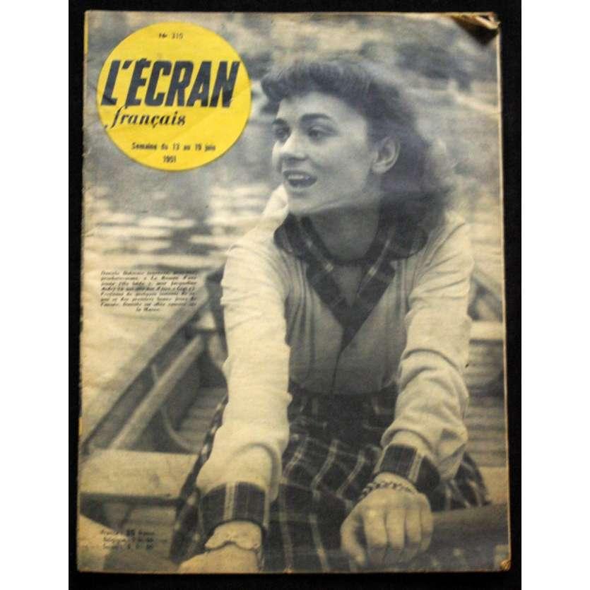 L'Ecran Français – N°310 – 1951 – Danièle Delorme
