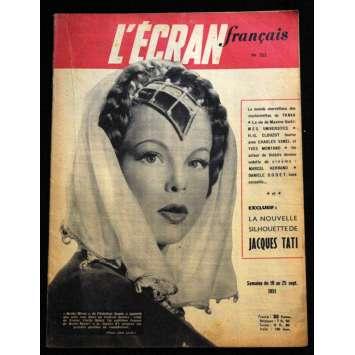 L'Ecran Français – N°323 – 1951 – Cécile Aubry