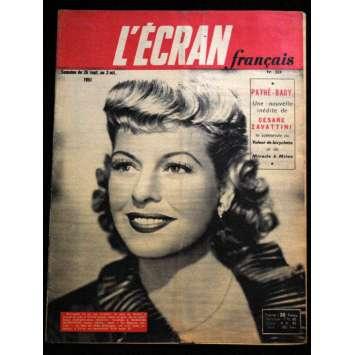 L'Ecran Français – N°324 – 1951 – Madeleine Robinson