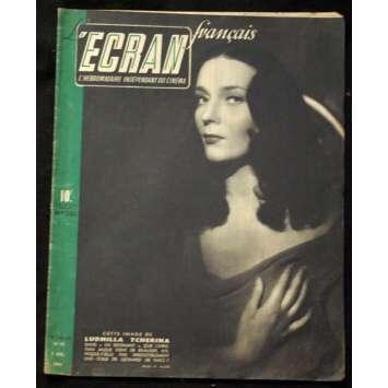L'Ecran Français – N°053 – 1946 – Ludmilla tcherina