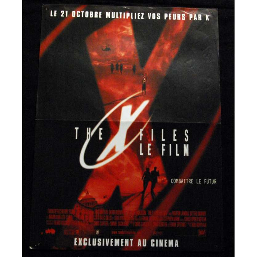 'X-FILES Affiche 40x60 FR ''98 David Duchovny Movie Poster'