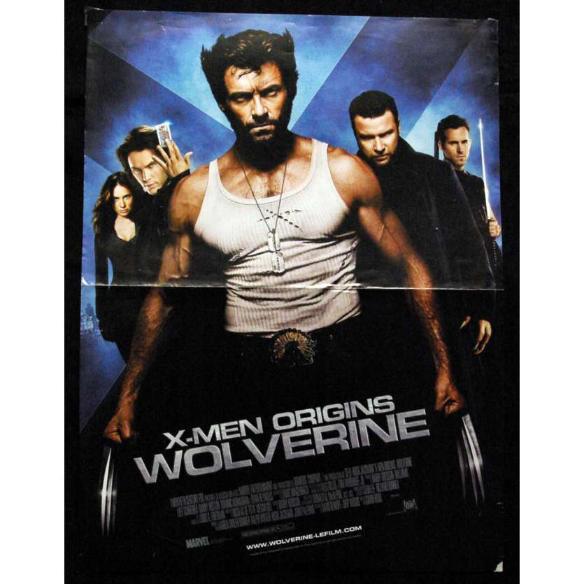 'WOLVERINE Affiche 40x60 FR ''09 Xmen Marvel Movie Poster'