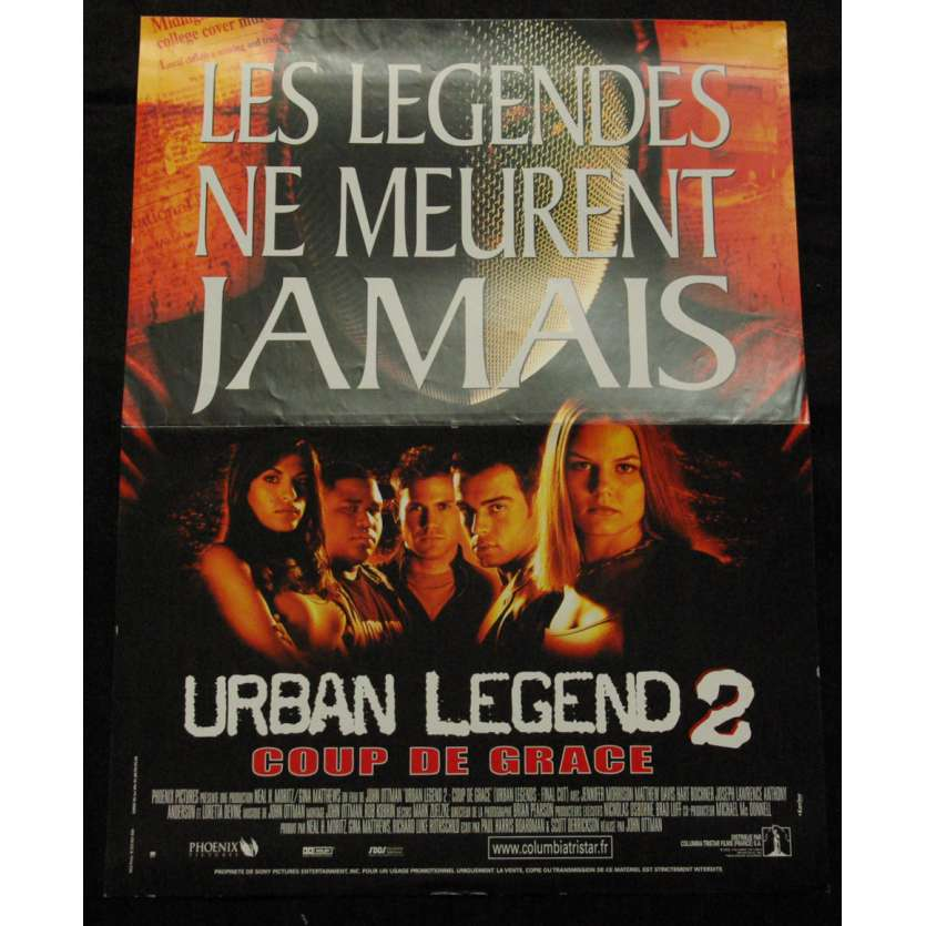 'URBAN LEGEND 2 French Movie Poster 15x21 ''02 Olivia Wilde'