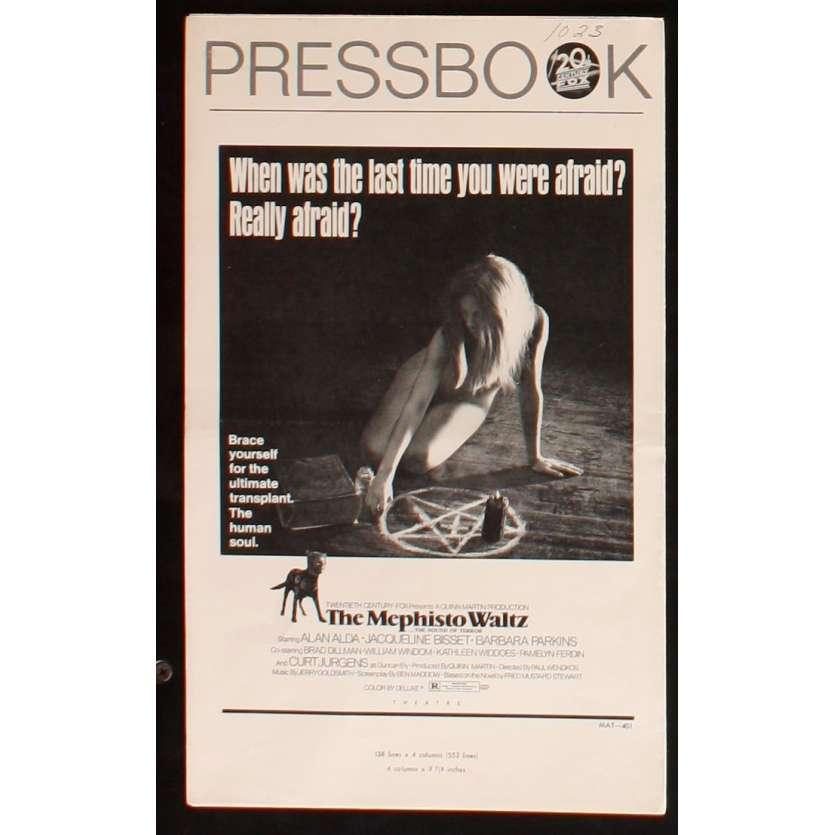 MEPHISTO WALTZ pressbook US 70's Horror Alan Alda, Jacqueline Bisset