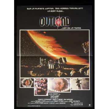 OUTLAND French Movie Poster 15x21 '81 Sean Connery
