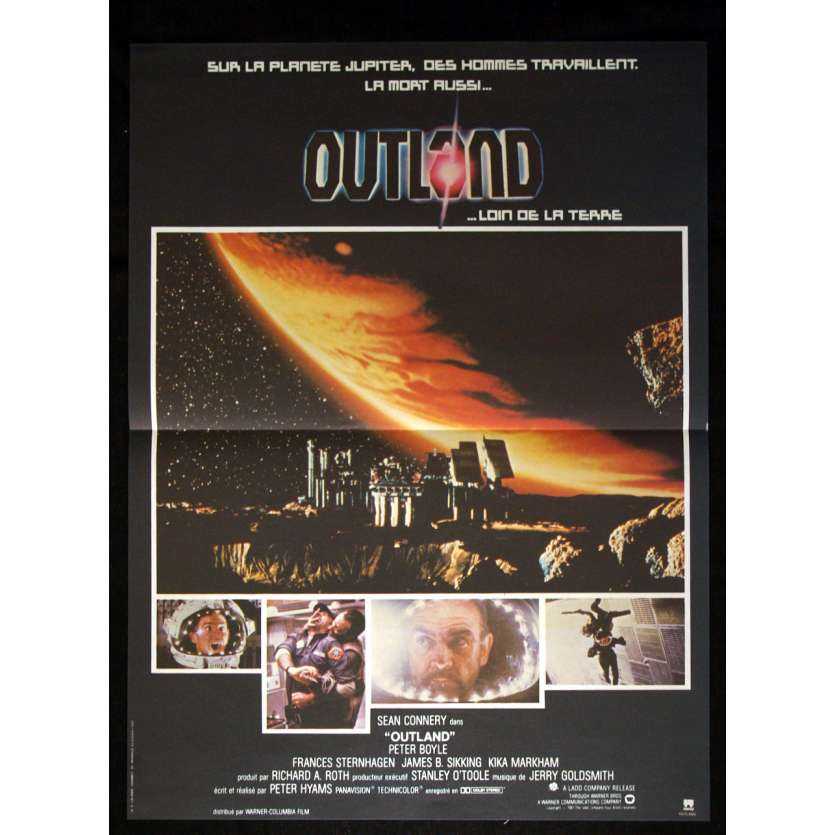 OUTLAND Affiche 40x60 FR '81 Sean Connery Movie Poster