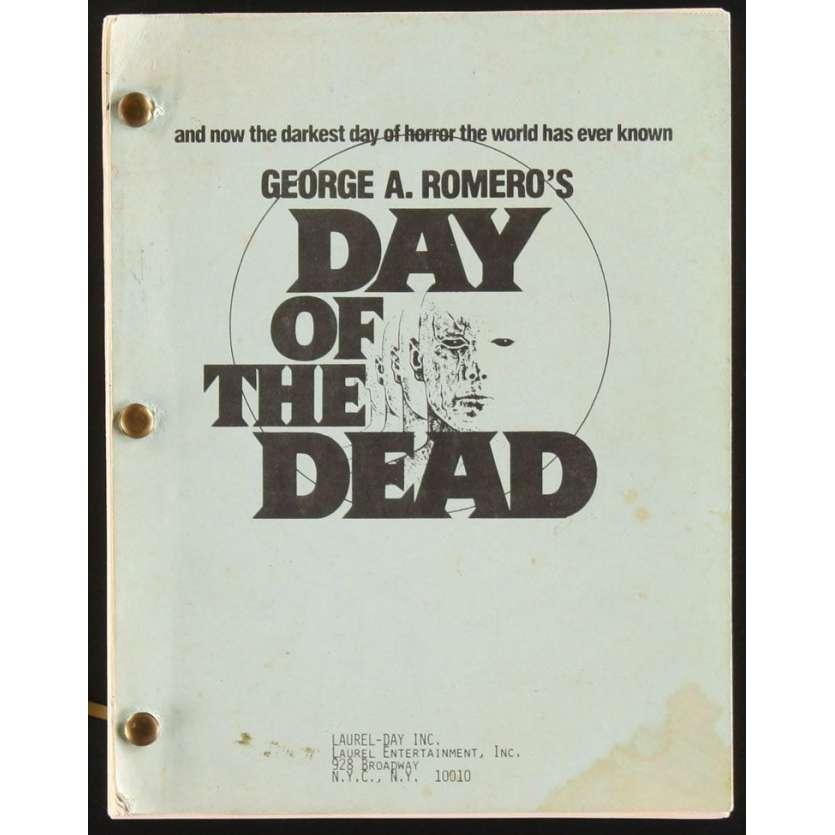 Mauvais-genres.com GEORGES A. ROMERO Le jour des Morts-vivants Scénario 1984 Scénarios et scripts