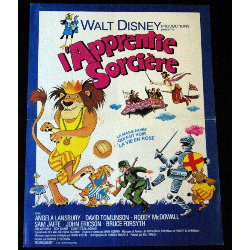 L'APPRENTIE SORCIERE Affiche 40x60 FR '71 Walt Disney Classic Movie Poster