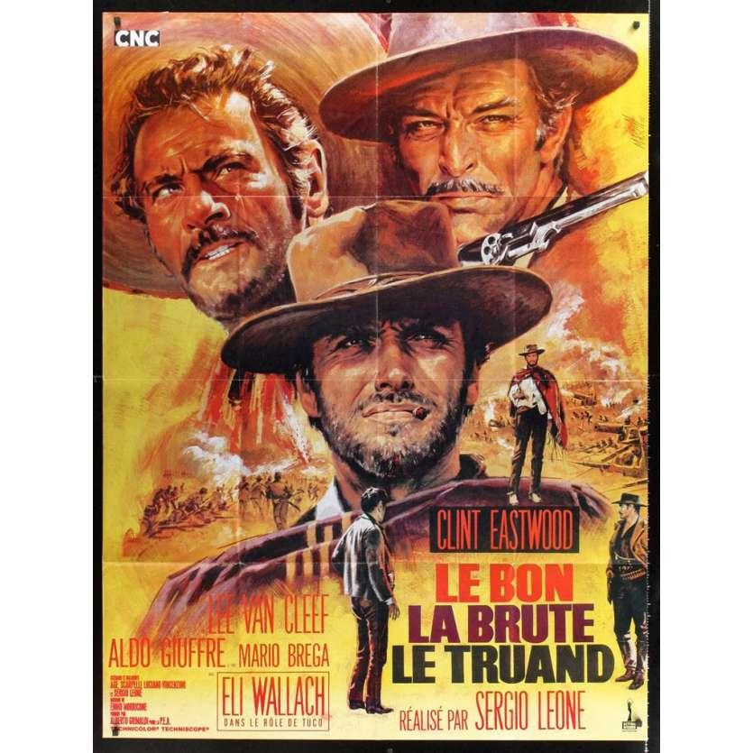 Mauvais-genres.com LE BON LA BRUTE ET LE TRUAND Eastwood Affiche du film FR 1980 Affiches cinéma