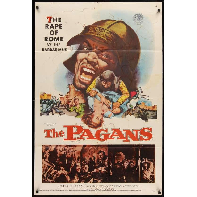 PAGANS Movie Poster '58 Ferruccio Cerio