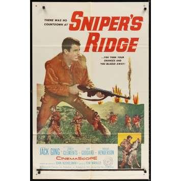SNIPER RIDGE Movie Poster '61 Jack Ging