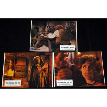 GOD FORGIVES… I DON'T! Lobby cards FR '67, Terence Hill western spaghetti