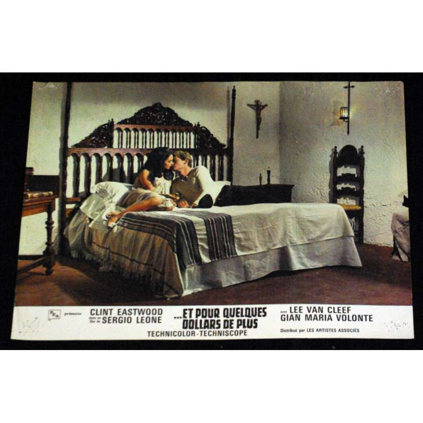 FOR A FEW DOLLARS MORE Lobby Card FR '65 N3, Clint Eastwood western spaghetti