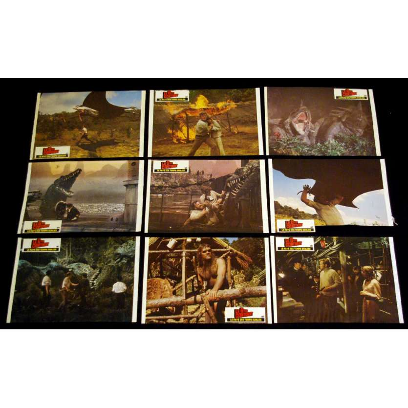 6E CONTINENT Photos Exploitation FR '75 Kevin Connor, Jules Verne Lobby Cards