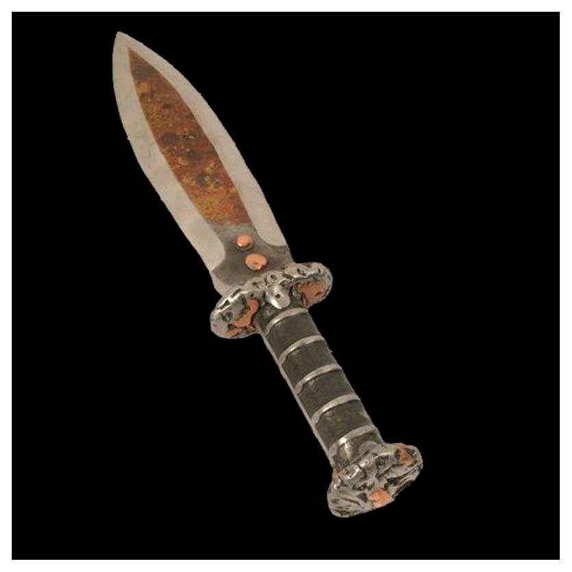 CONAN Couteau utilisé pendant le tournage! Original Prop 2kg! '11 COA