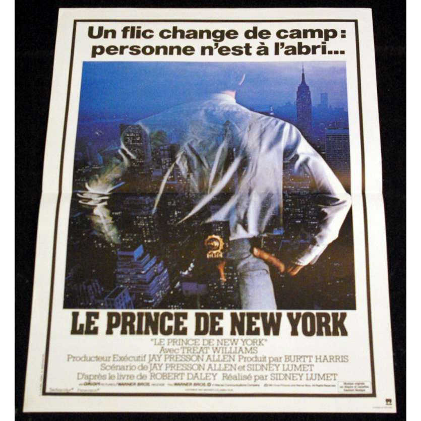 PRINCE DE NEW-YORK Affiche 40x60 FR '81 Sidney Lumet Movie Poster