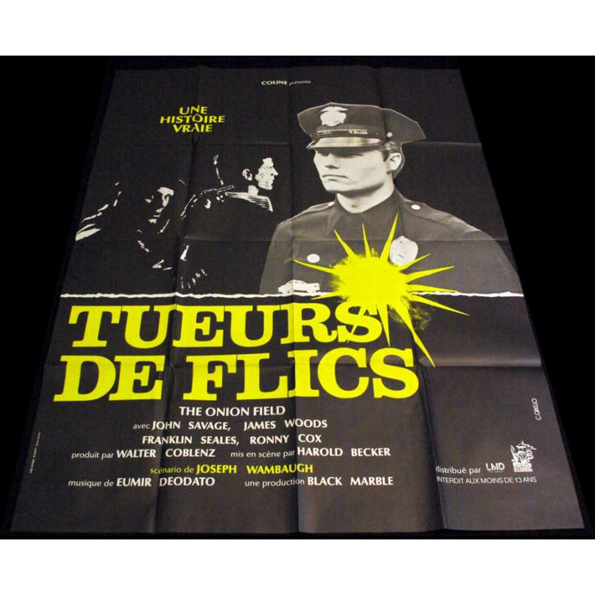 TUEURS DE FLICS Affiche 120x160 FR '79 James Woods Movie Poster