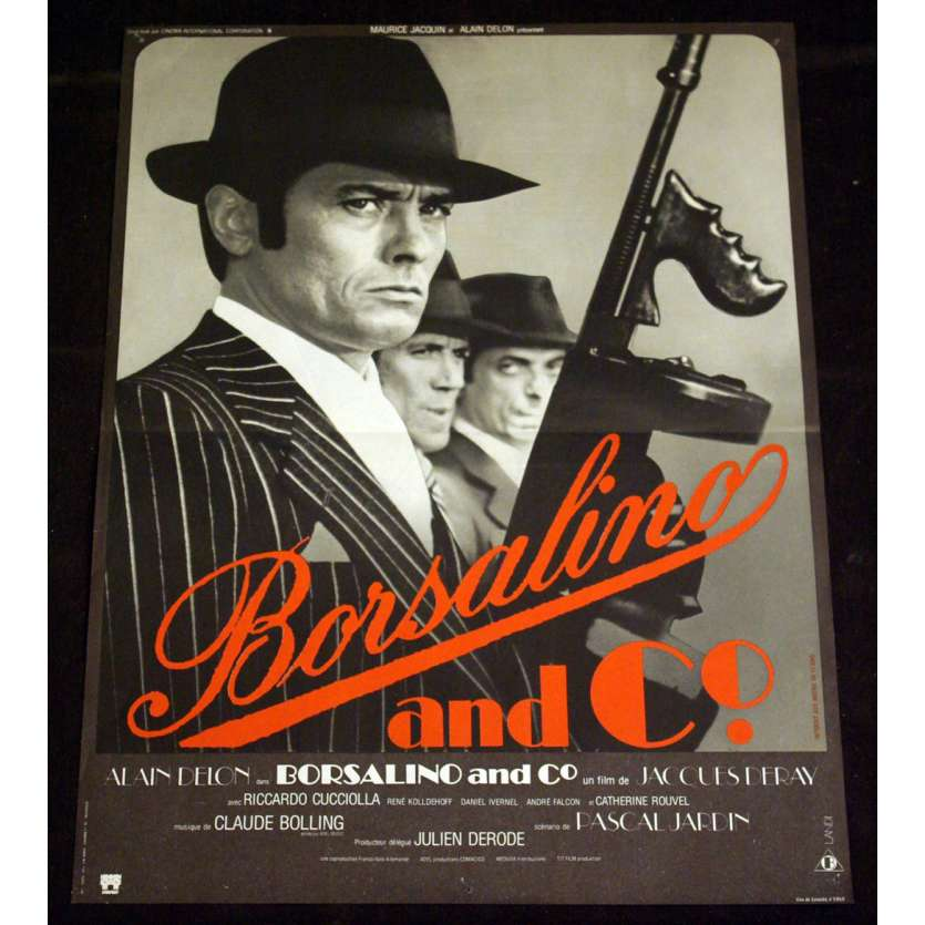 BORSALINO AND CO Affiche 40x60 FR '74 Alain Delon