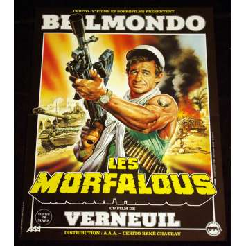 MORFALOUS French Movie Poster 15x21 '84 Jean-Paul Belmondo