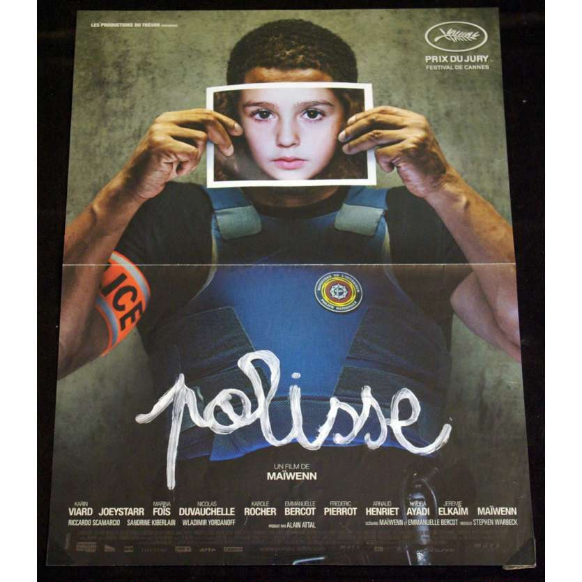 POLISSE French Movie Poster 15x21 '11 Maiwenn, Joey Starr