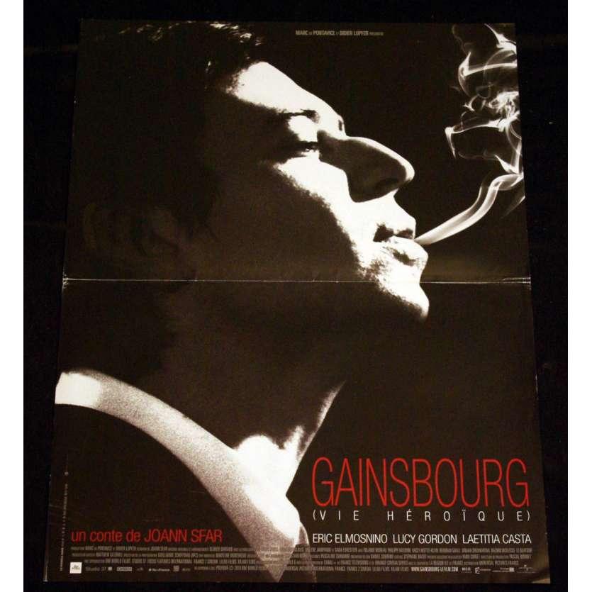 GAINSBOURG Affiche 40x60 FR '10 Sfar, Laeticia Casta