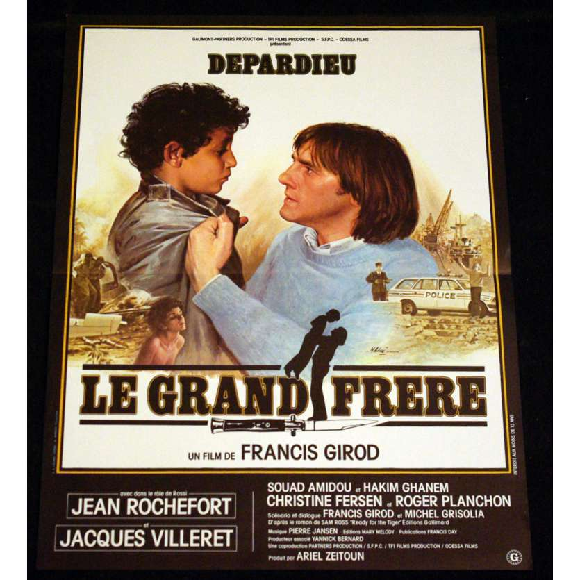 GRAND FRERE Affiche 40x60 FR '82 Depardieu