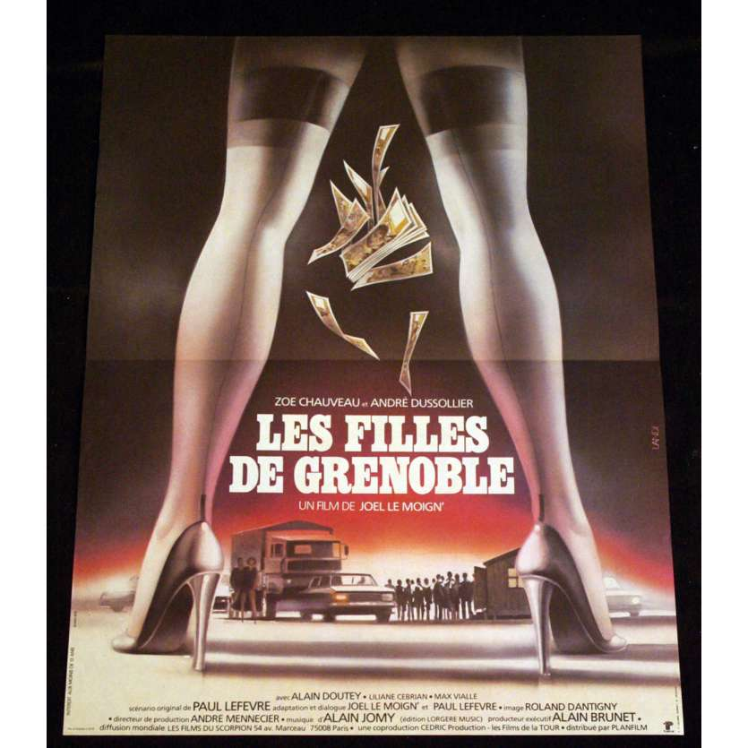 FILLES DE GRENOBLES French Movie Poster 15x21 '81 Dussolier