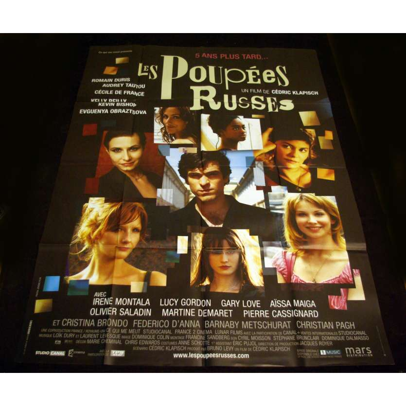 POUPEES RUSSES French Movie Poster 47x63 '04 Klapisch, De France