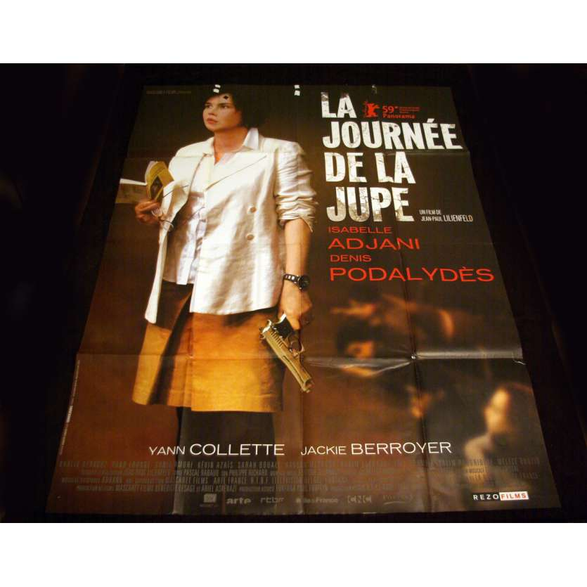JOURNEE DE LA JUPE French Movie Poster 47x63 '08 Isabelle Adjani