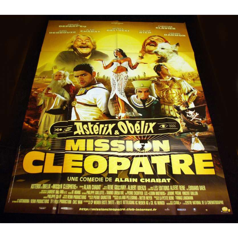 ASTERIX AND CLEOPATRA French Movie Poster 47x63 '01 Alain Chabat, Djamel