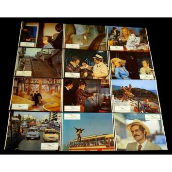 CASSE Photos exploitation x12 FR '71 Belmondo, Omar Shariff, lobby cards