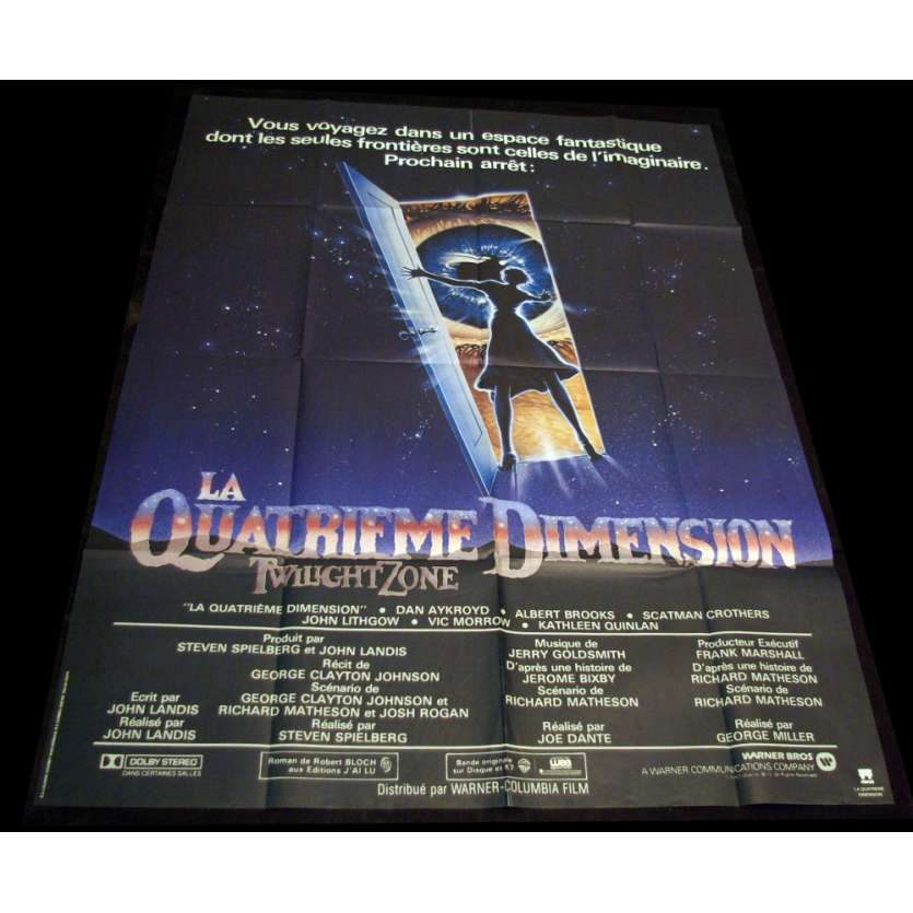 QUATRIEME DIMENSION Affiche 120x160 FR '84 Spielberg, Dante movie poster